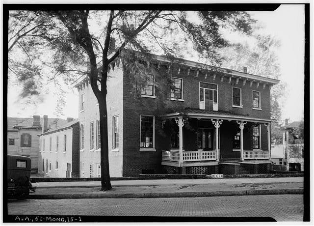 Figh Pickett House Barnes School 1930s